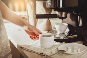 Coffee Maker Brewing Slow